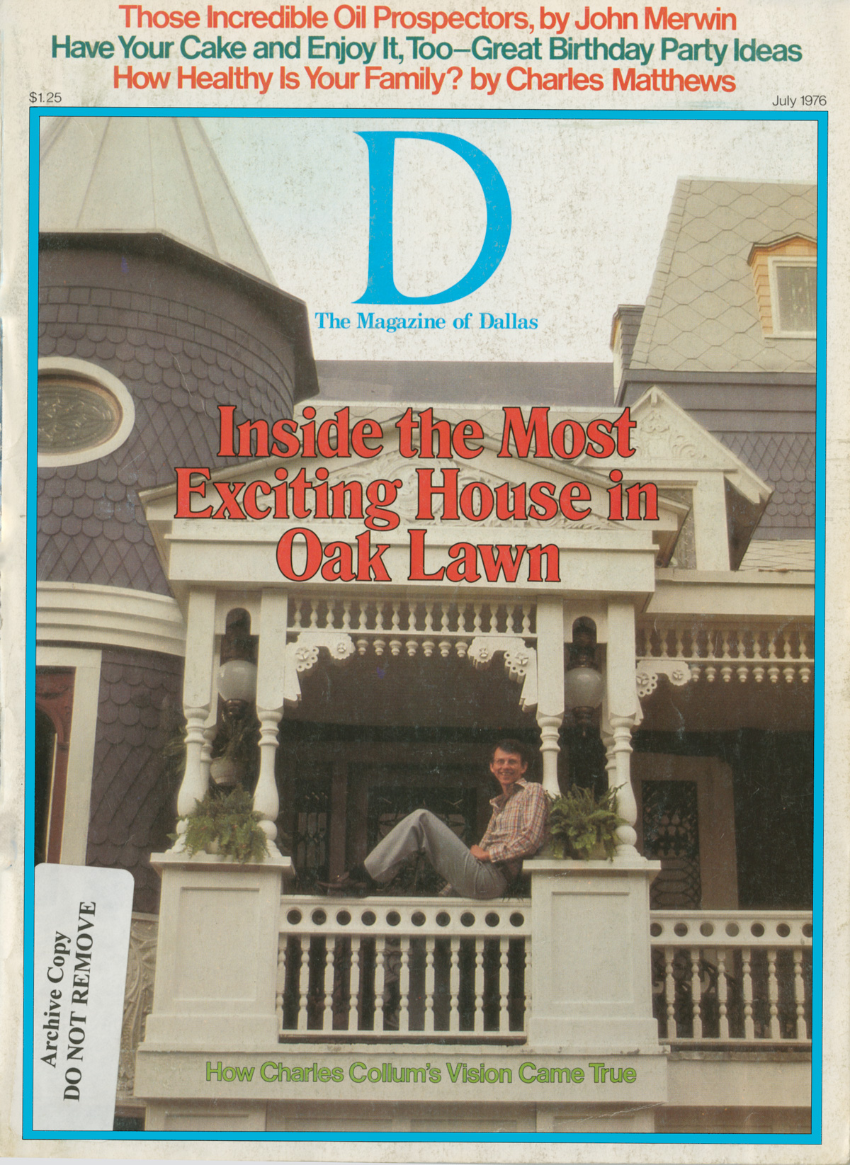 July 1976 cover