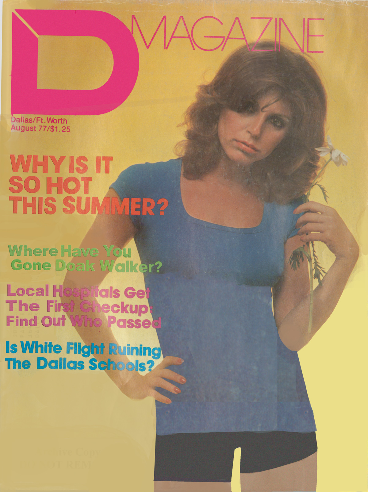 August 1977 cover