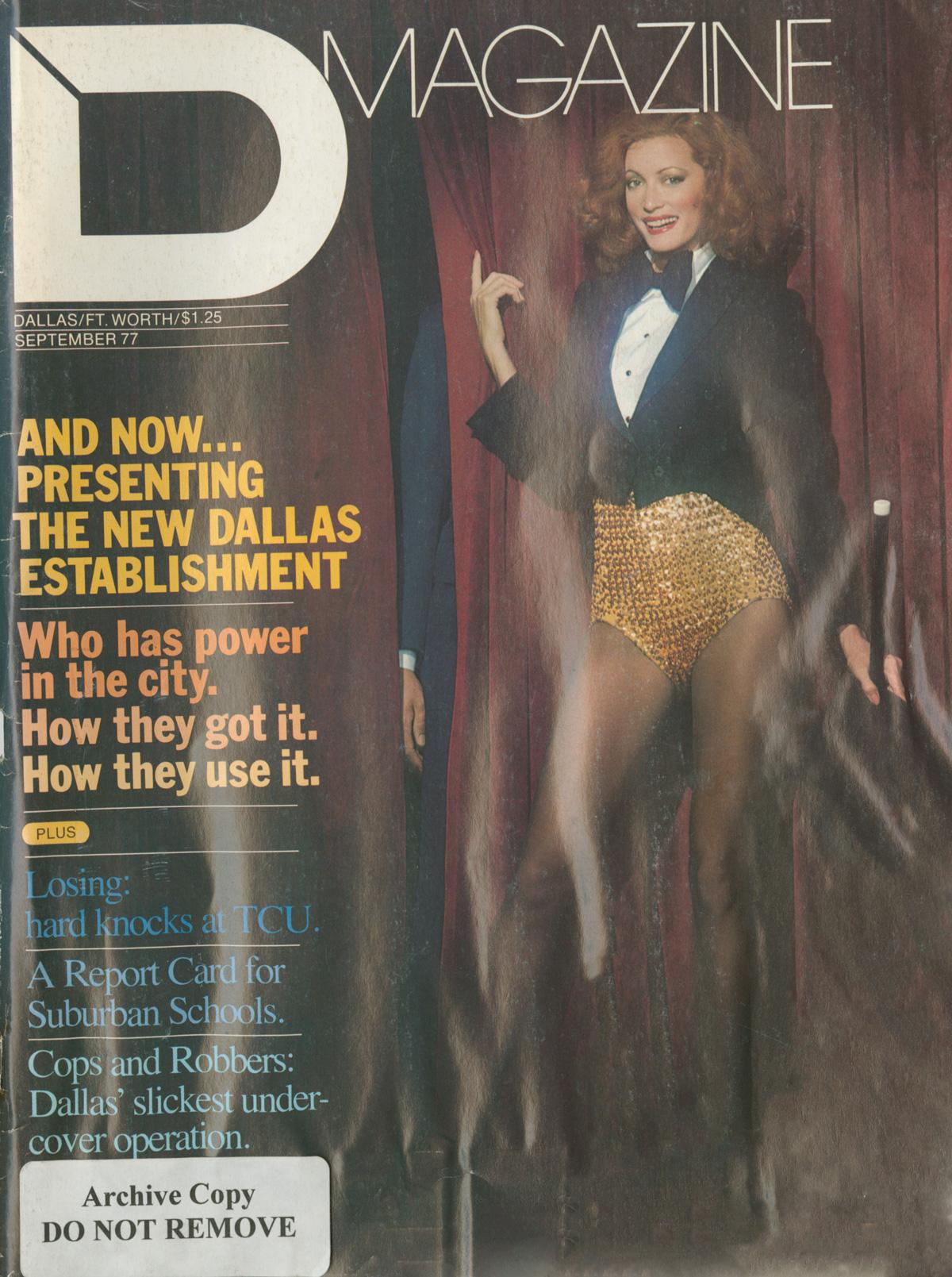 September 1977 cover
