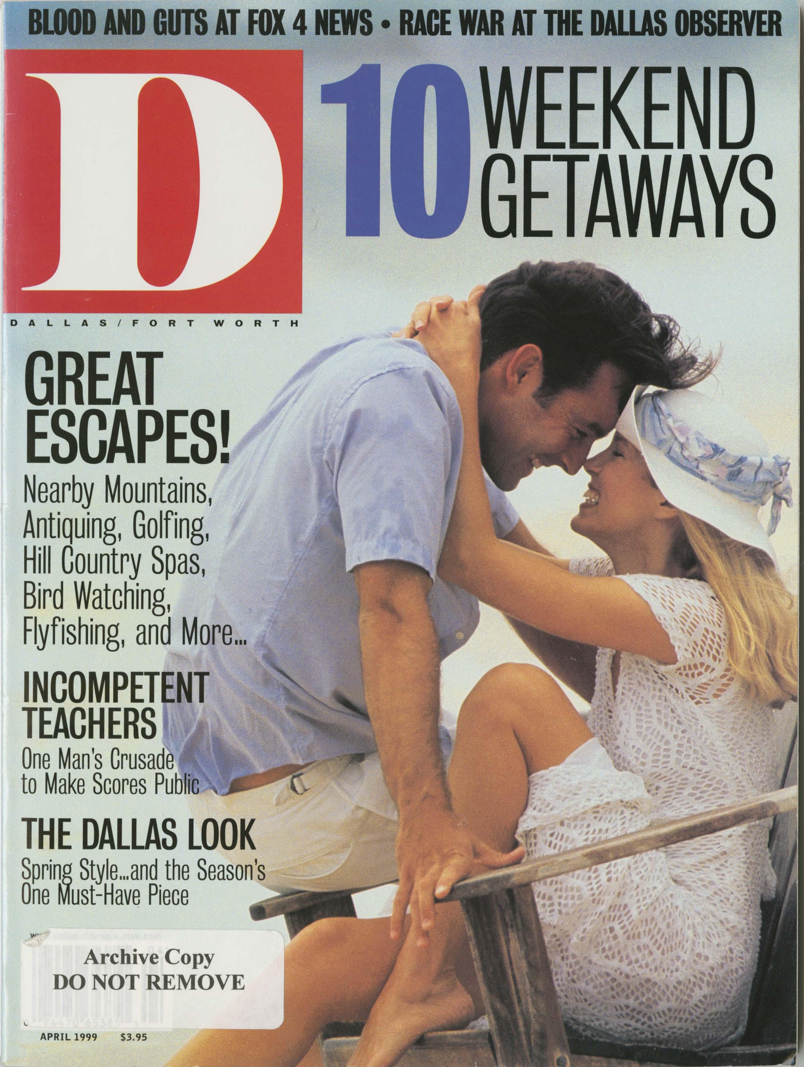 April 1999 cover
