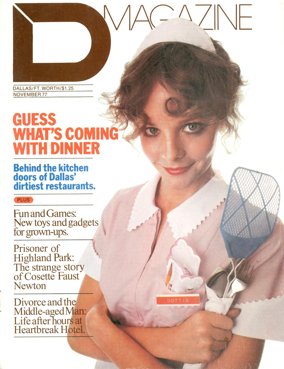 November 1977 cover