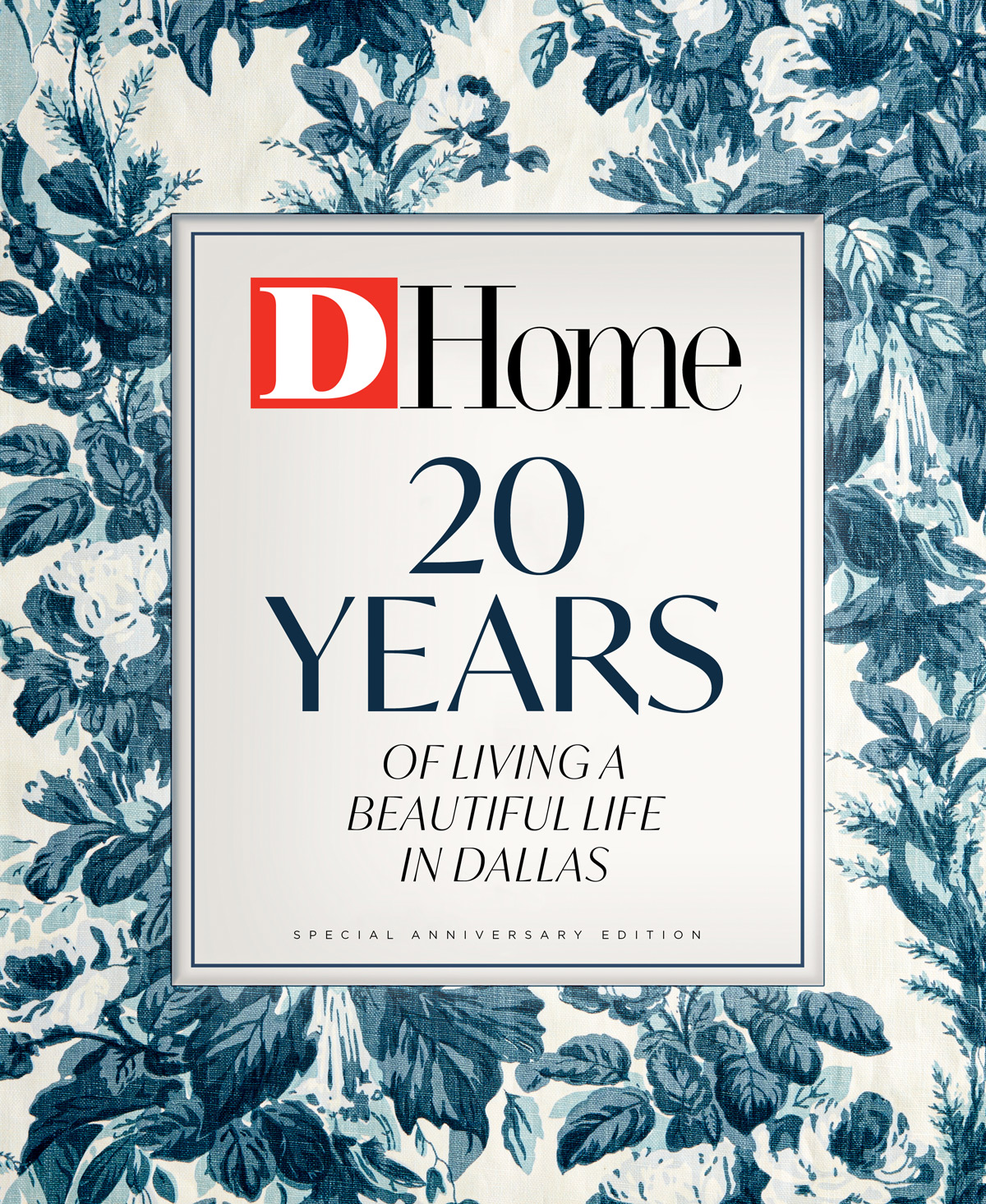 20 Years of Living a Beautiful Life in Dallas 2020 cover
