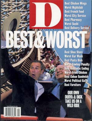 January 2001 cover