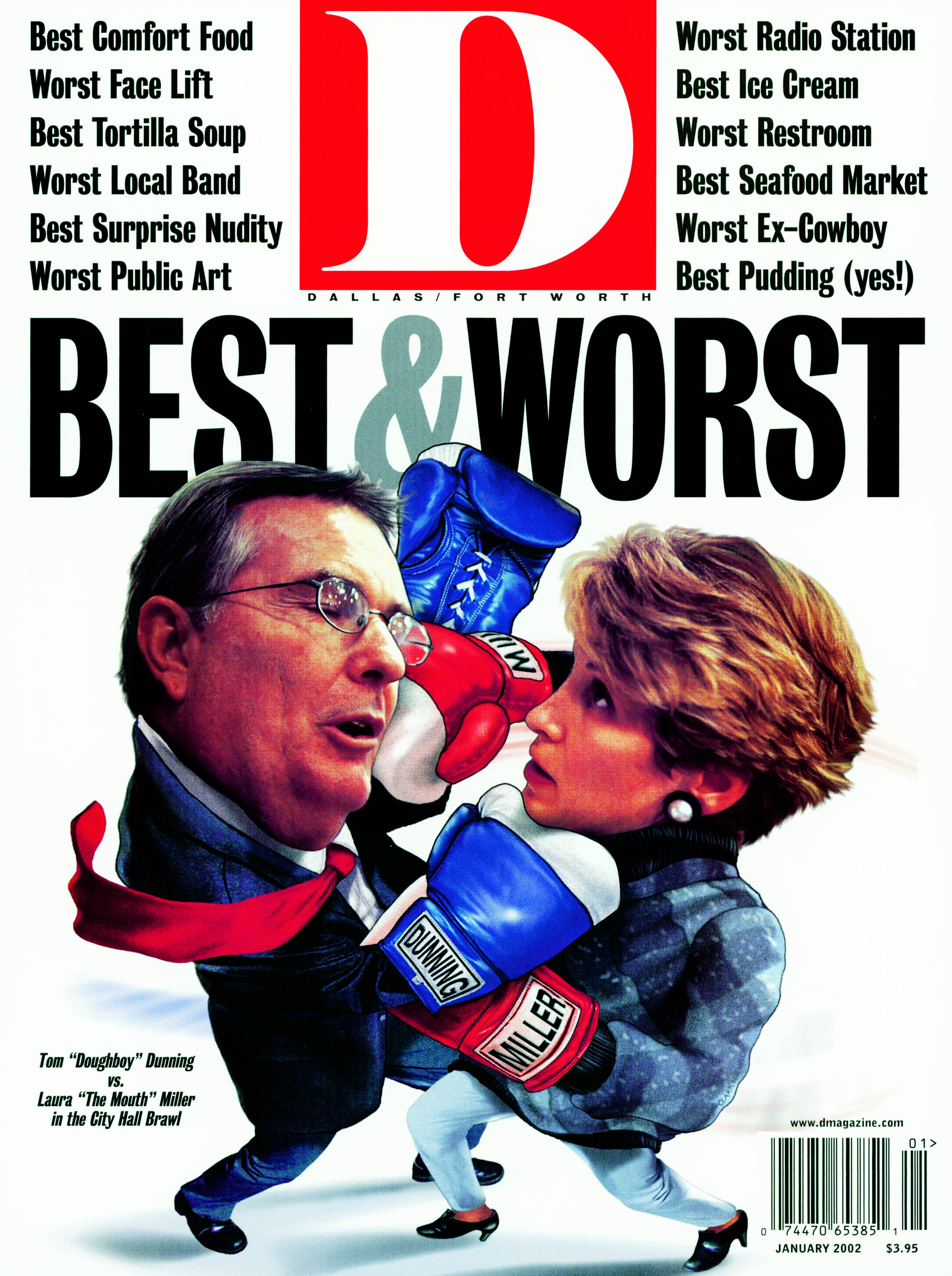 January 2002 cover