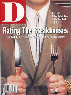 February 2001 cover