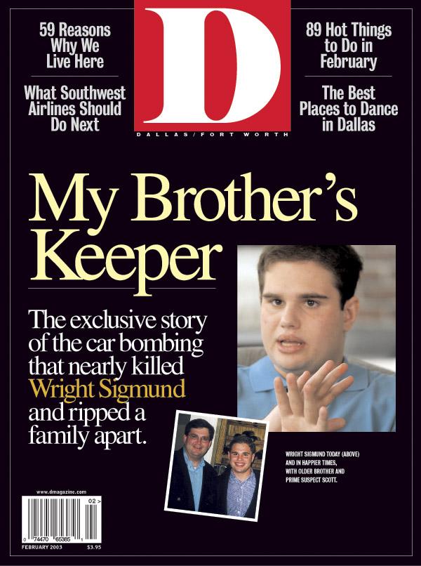 February 2003 cover