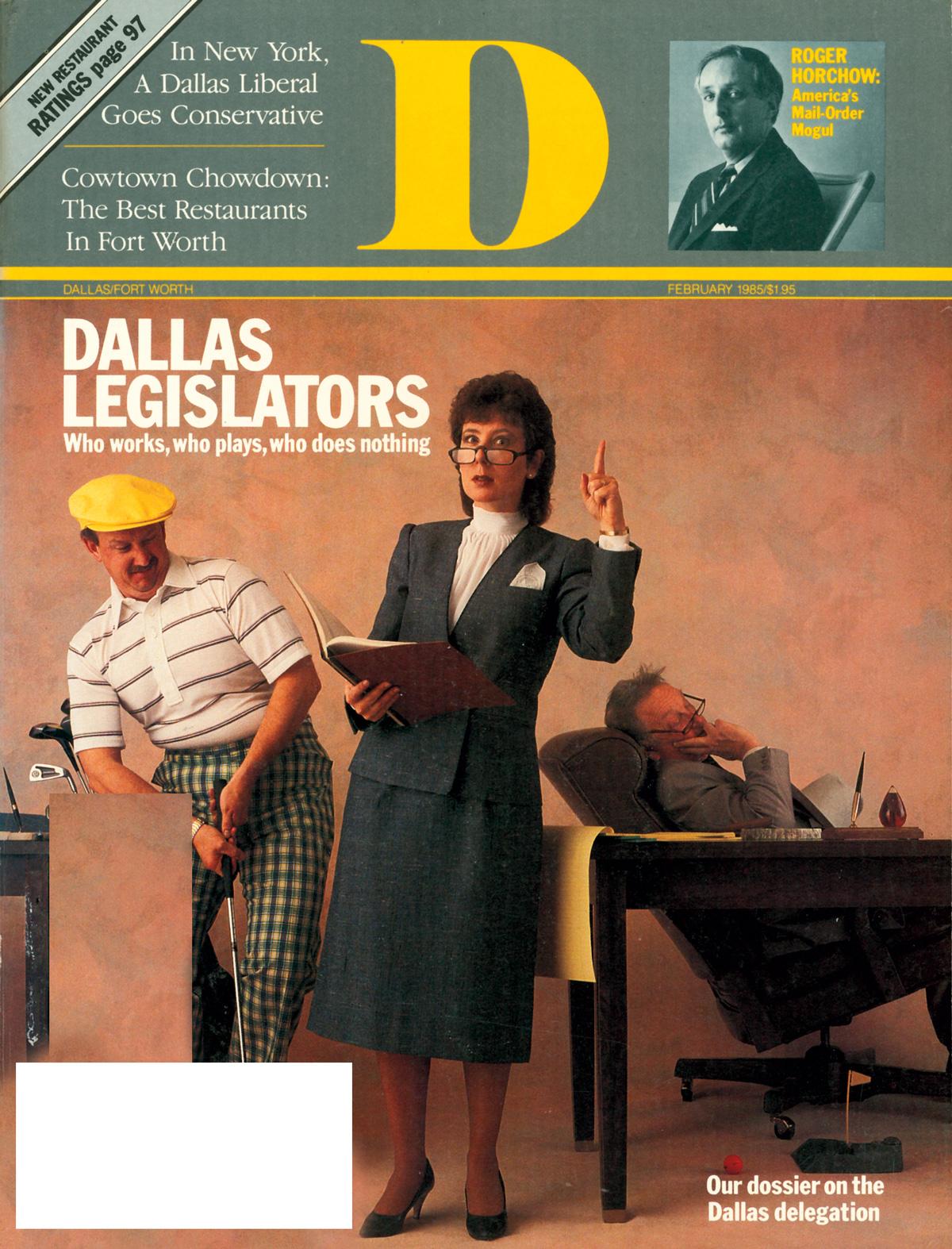 February 1985 cover