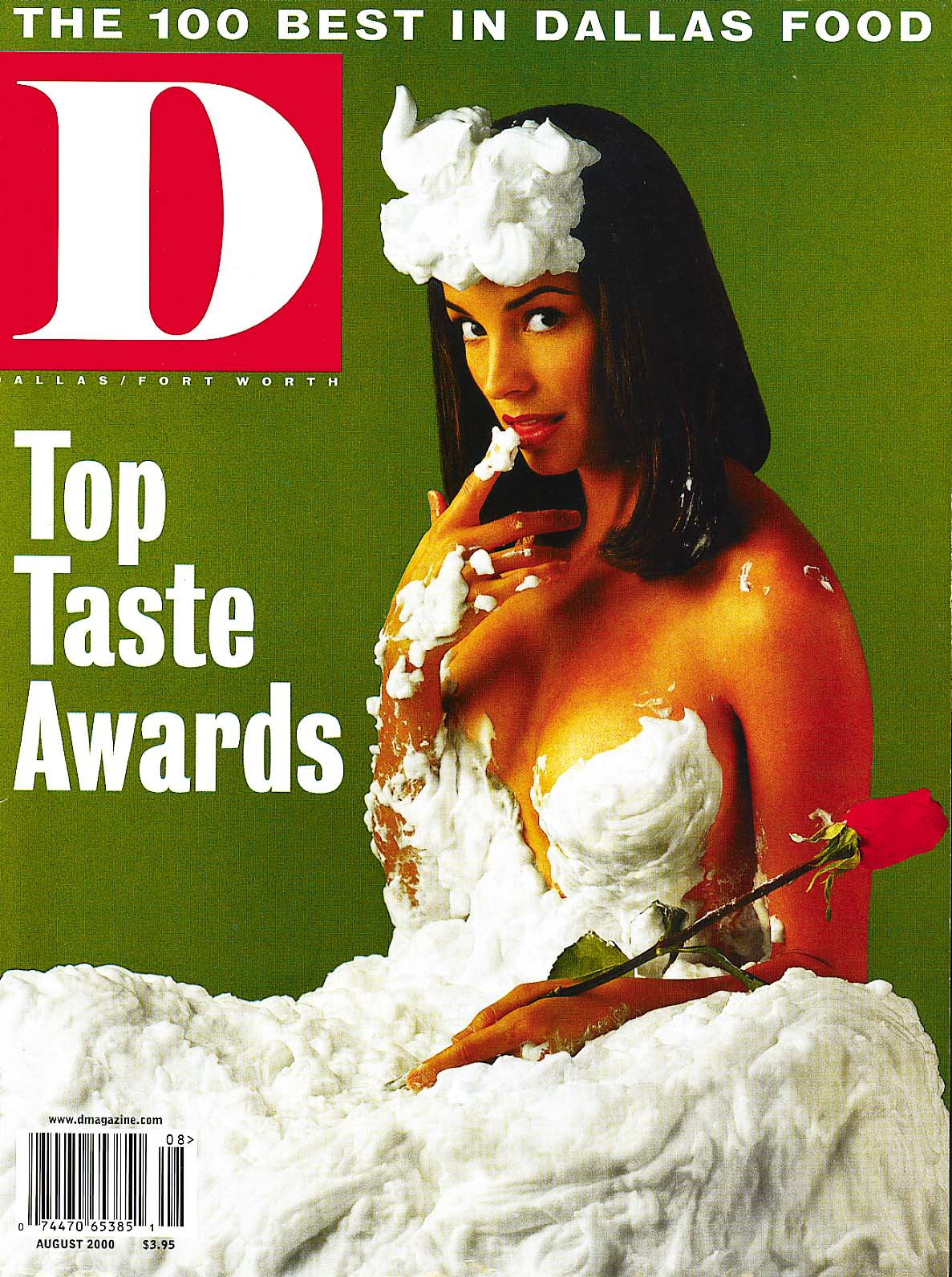 August 2000 cover