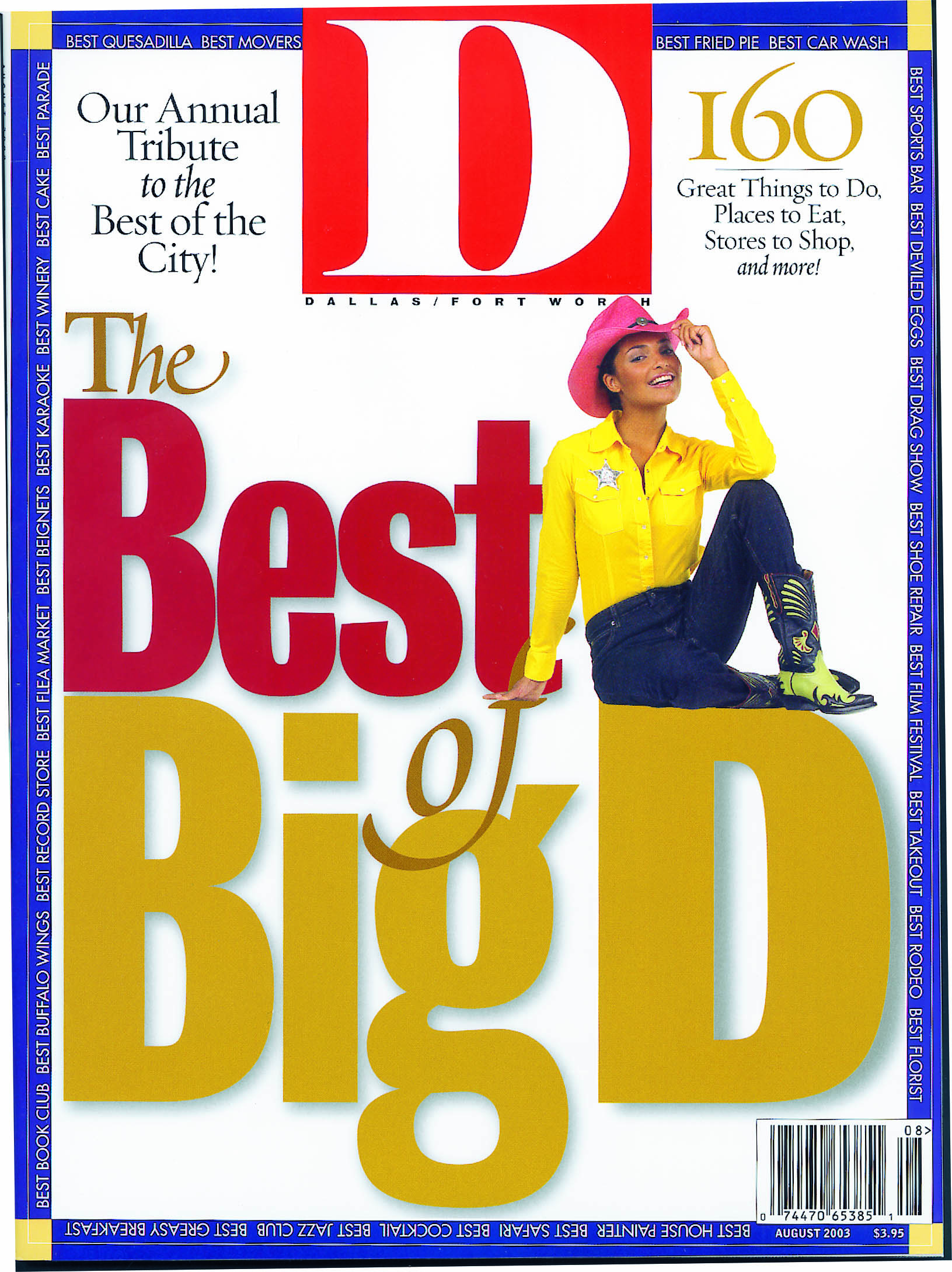 August 2003 cover
