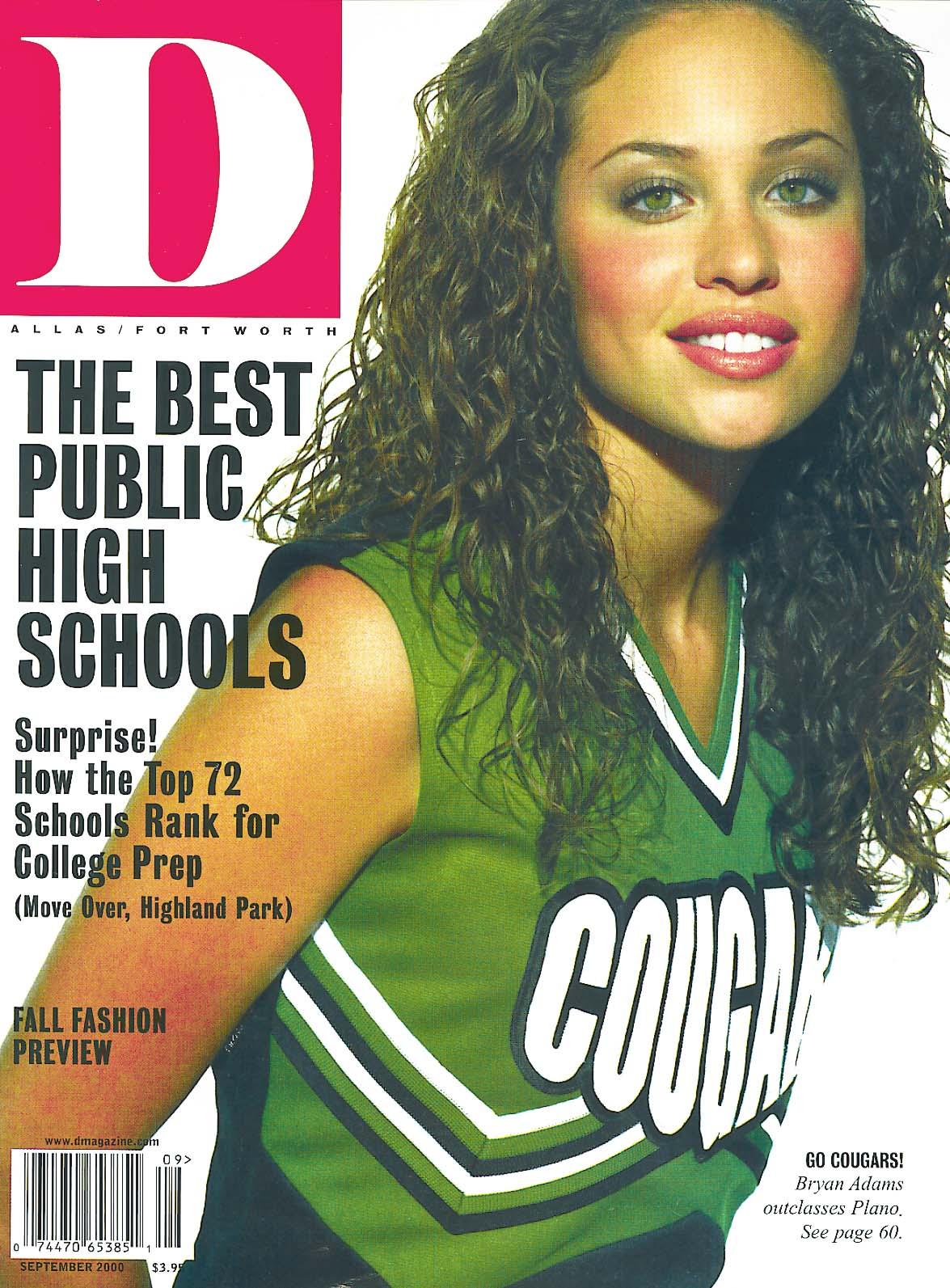 September 2000 cover