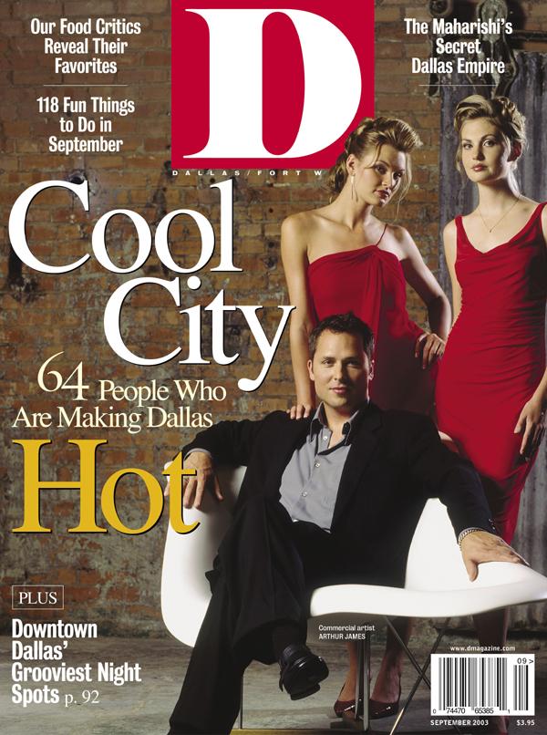 September 2003 cover