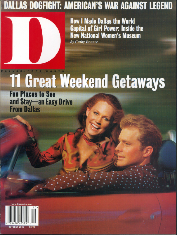 October 2000 cover