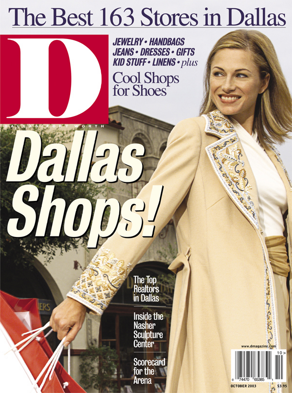 October 2003 cover