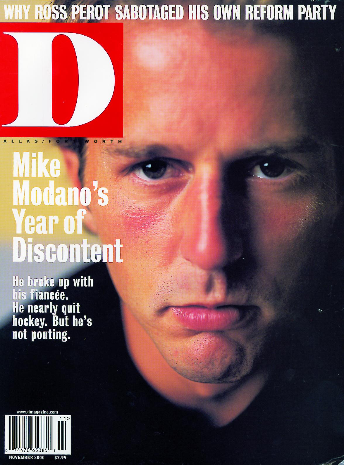 November 2000 cover