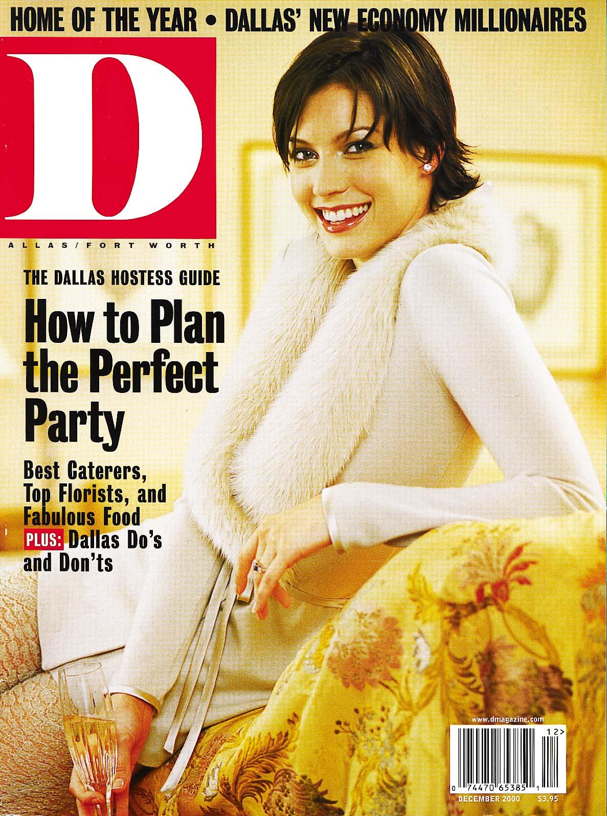 December 2000 cover