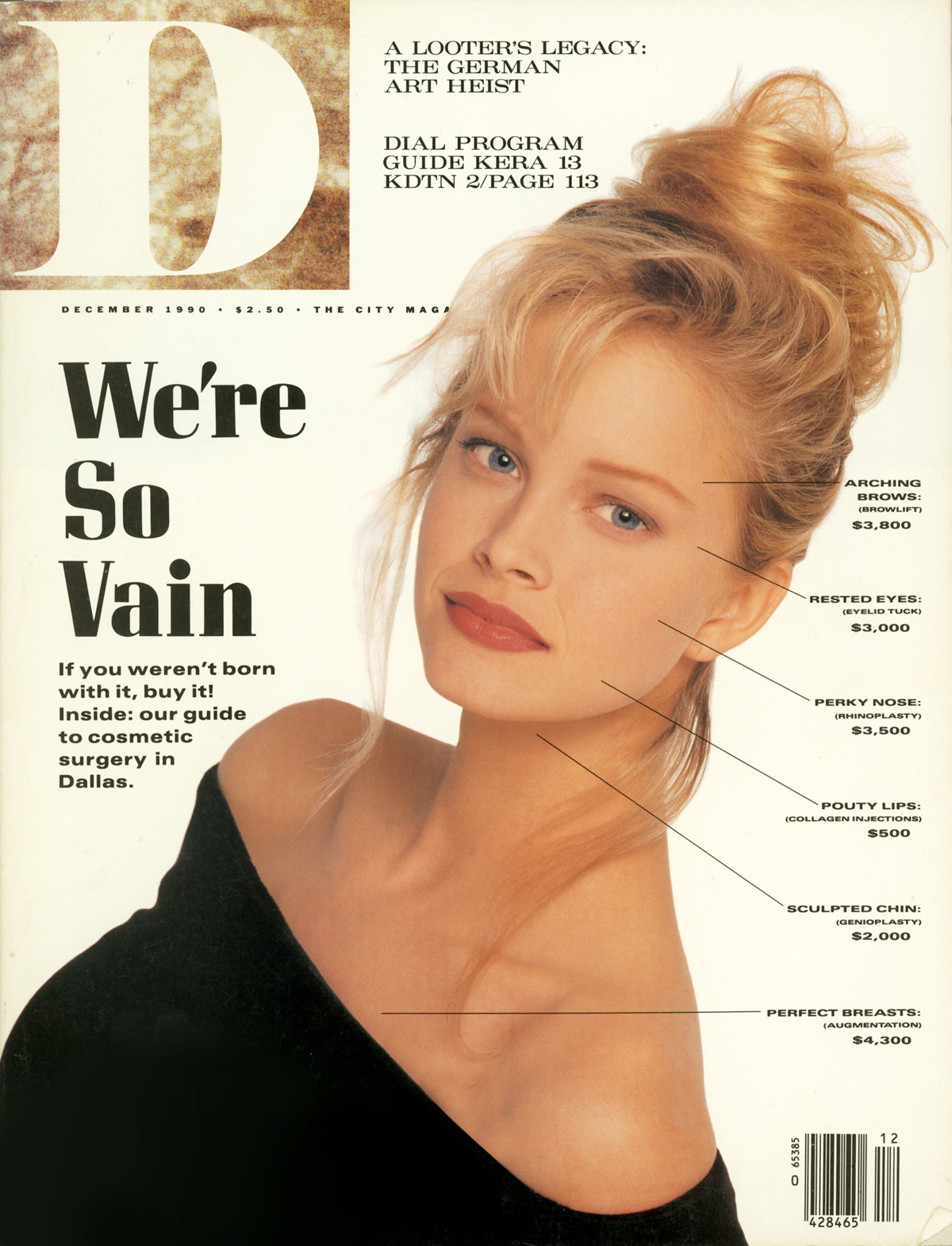 December 1990 cover