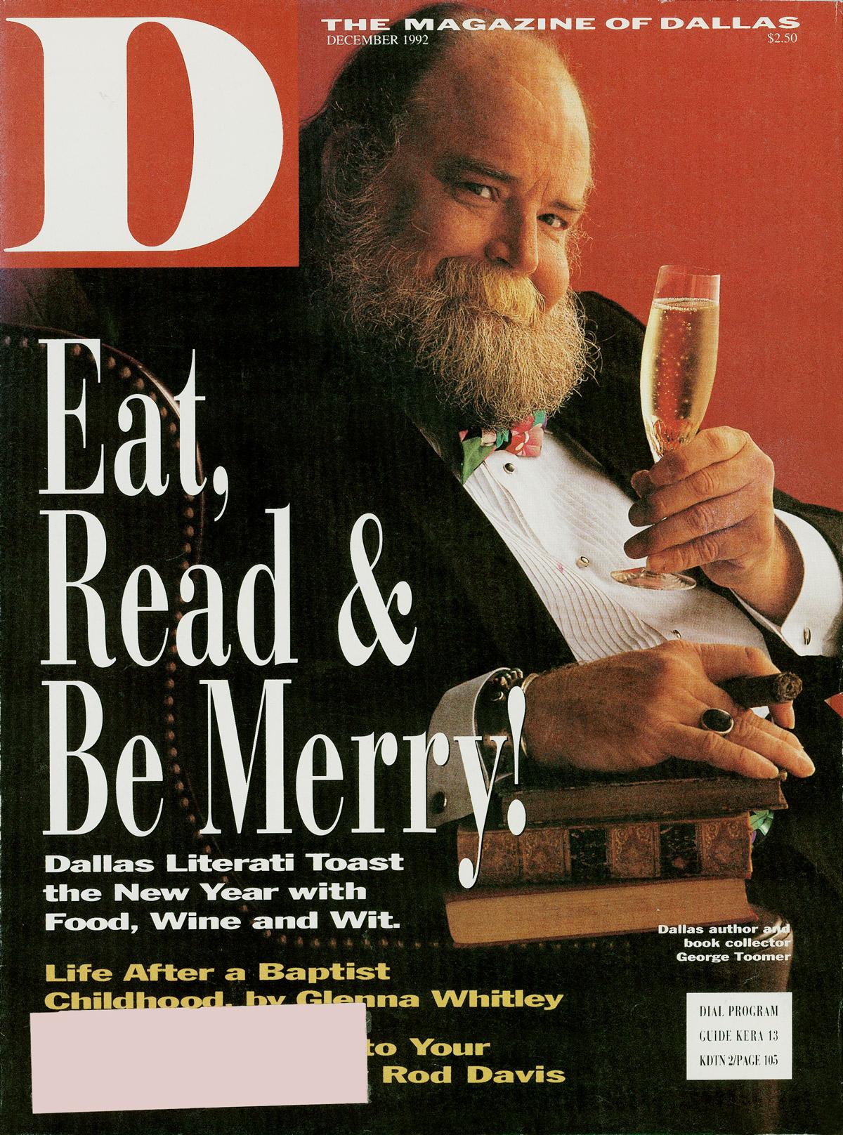 December 1992 cover