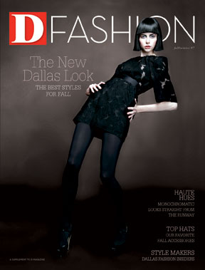 Special Report D Fashion Fall Winter 2007 cover