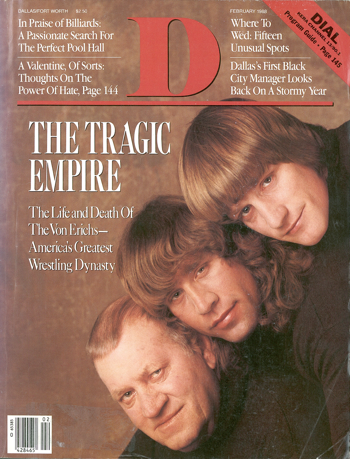 February 1988 cover