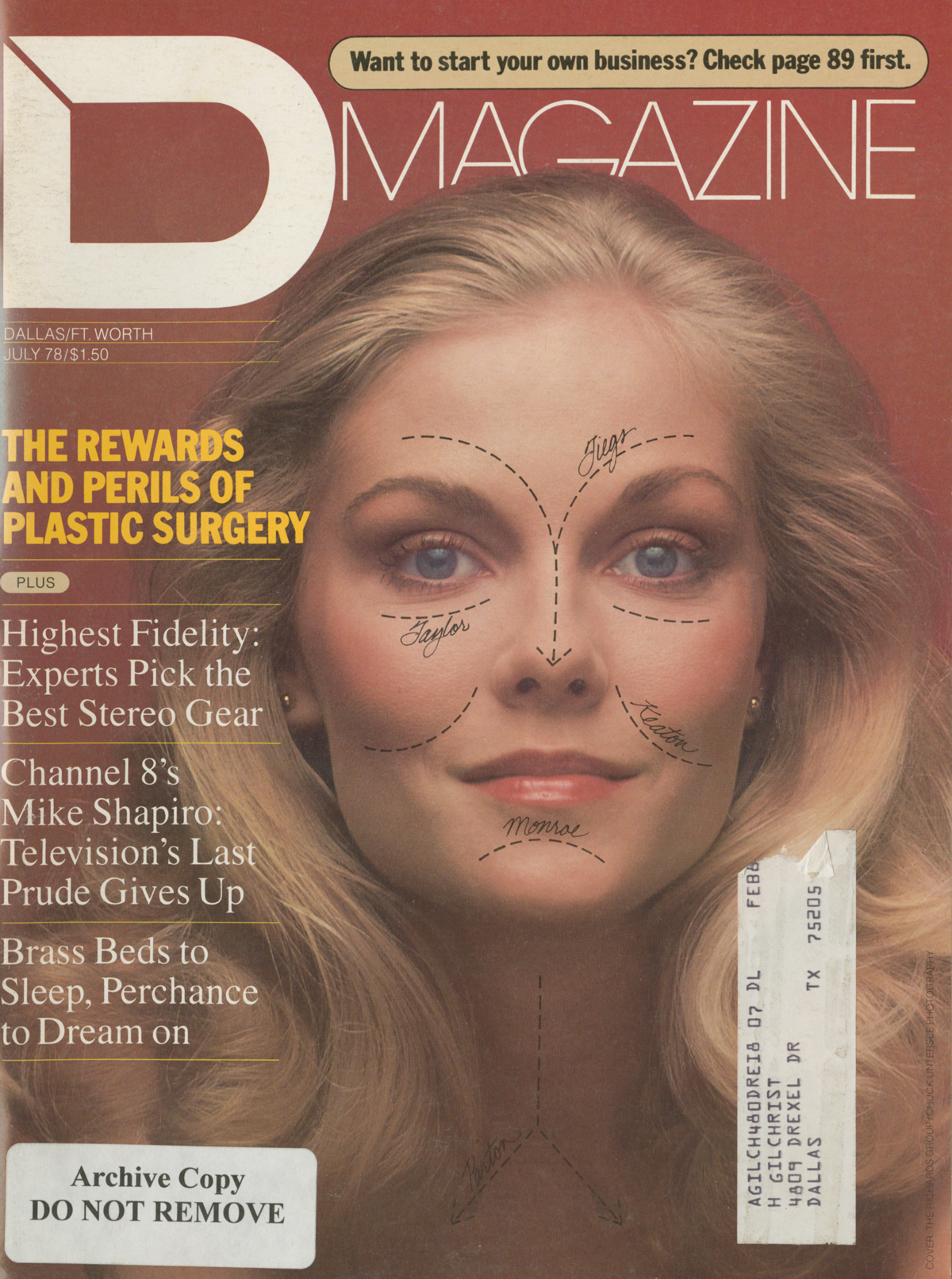 July 1978 cover
