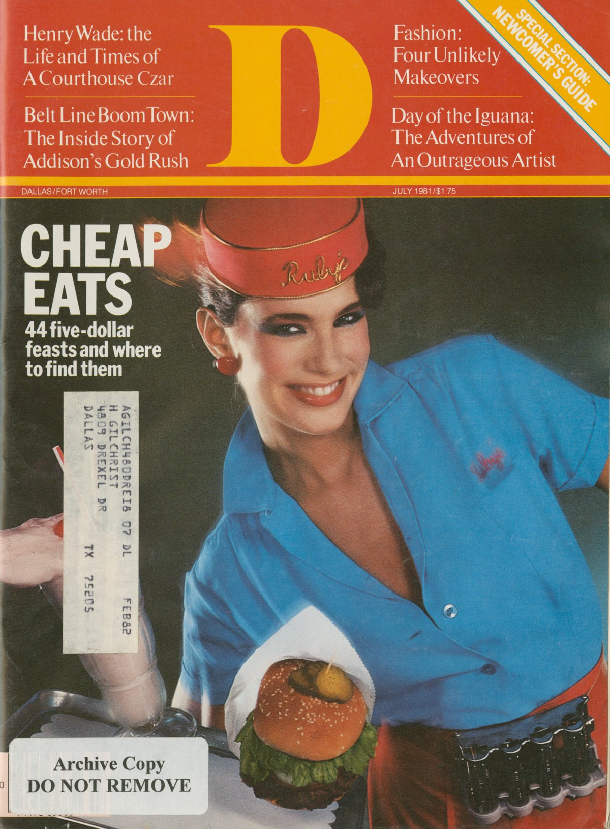 July 1981 cover