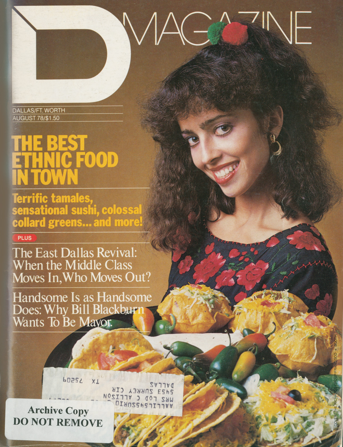 August 1978 cover
