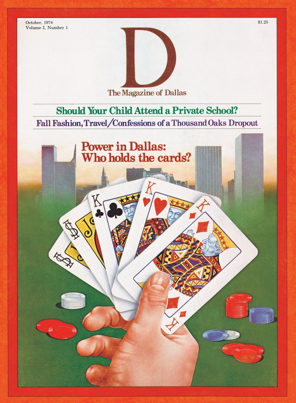 October 1974 cover