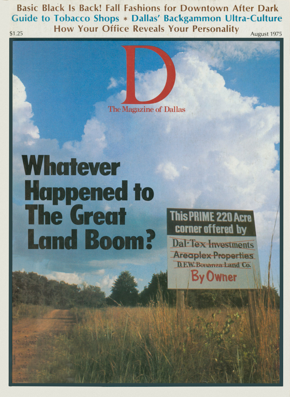 August 1975 cover