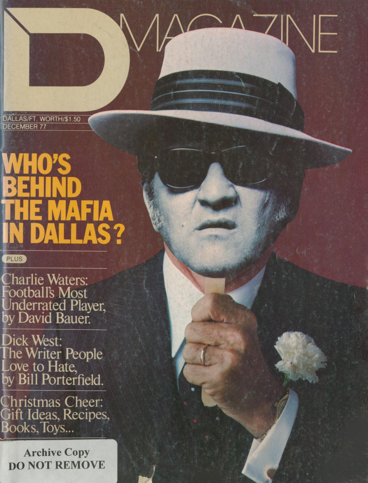 December 1977 cover
