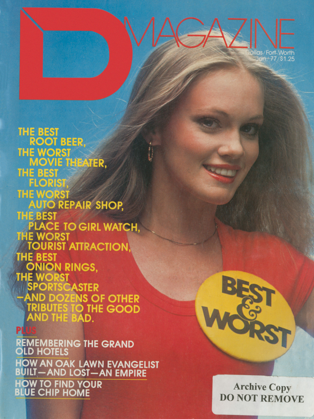 January 1977 cover