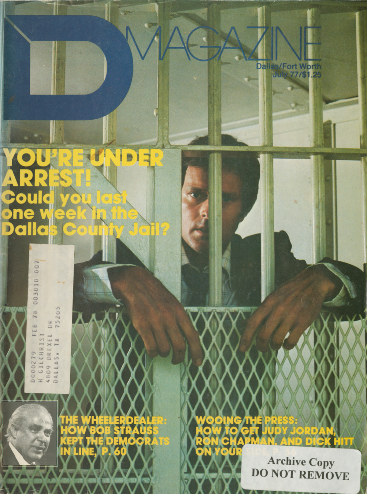 July 1977 cover