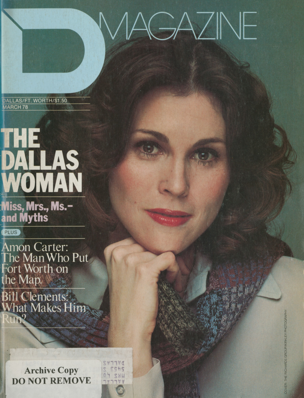 March 1978 cover