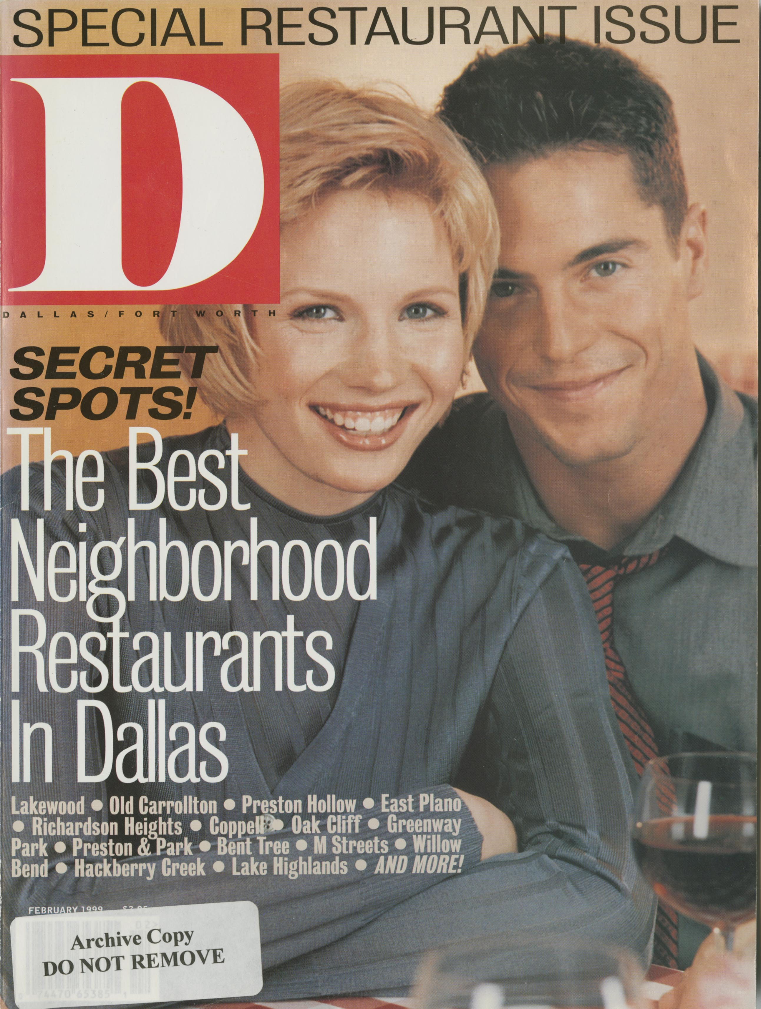 February 1999 cover