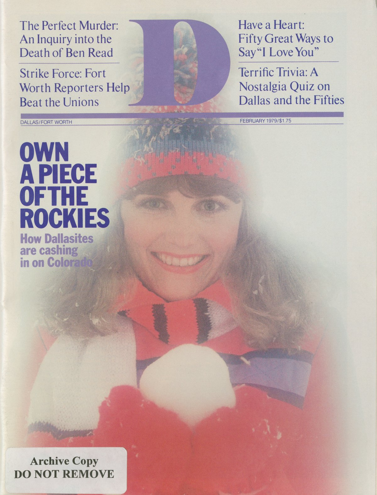 February 1979 cover