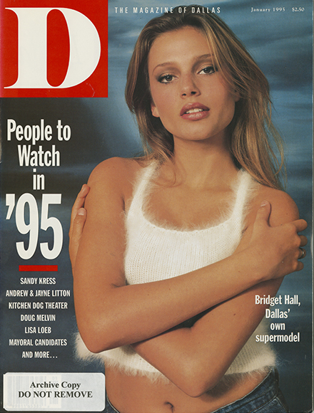 January 1995 cover