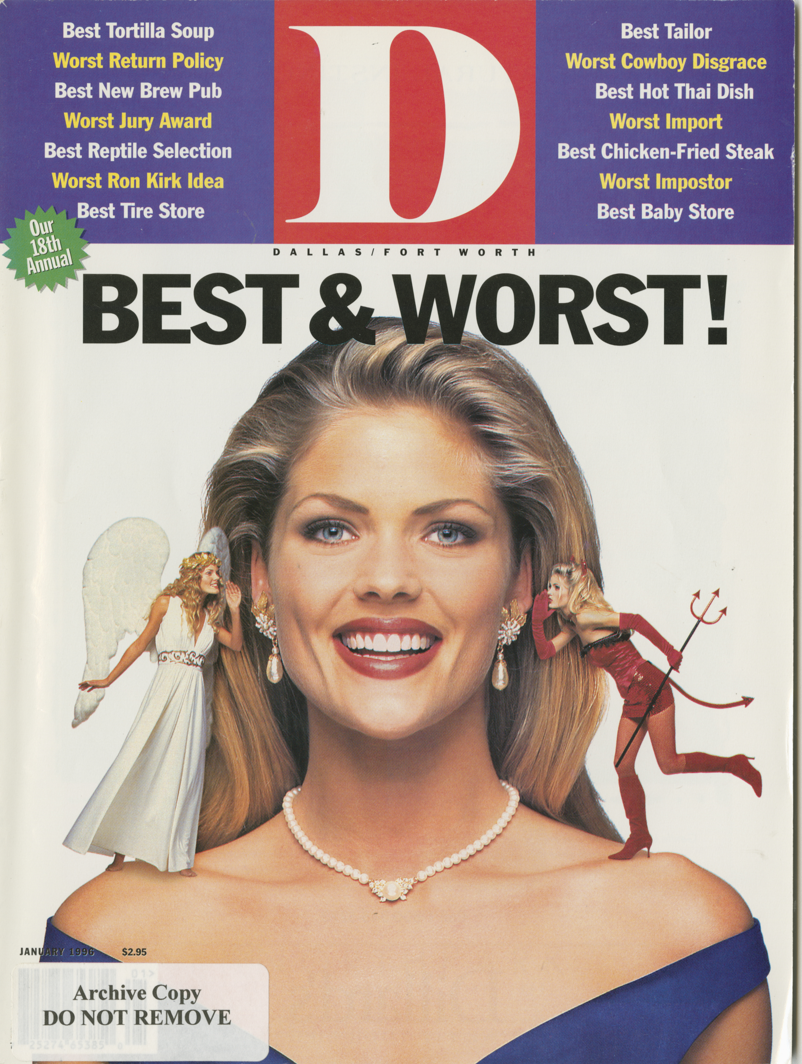 January 1996 cover