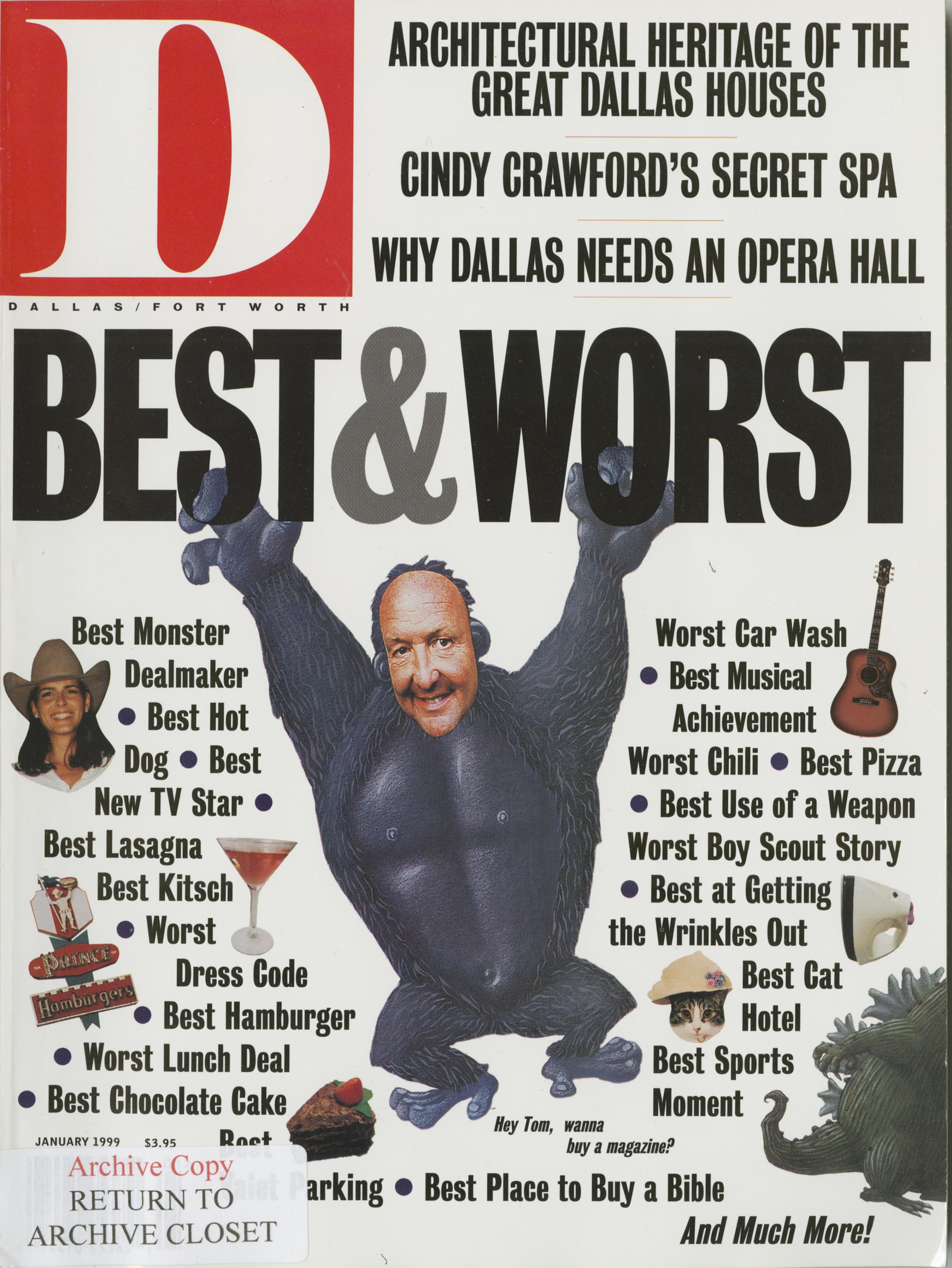 January 1999 cover