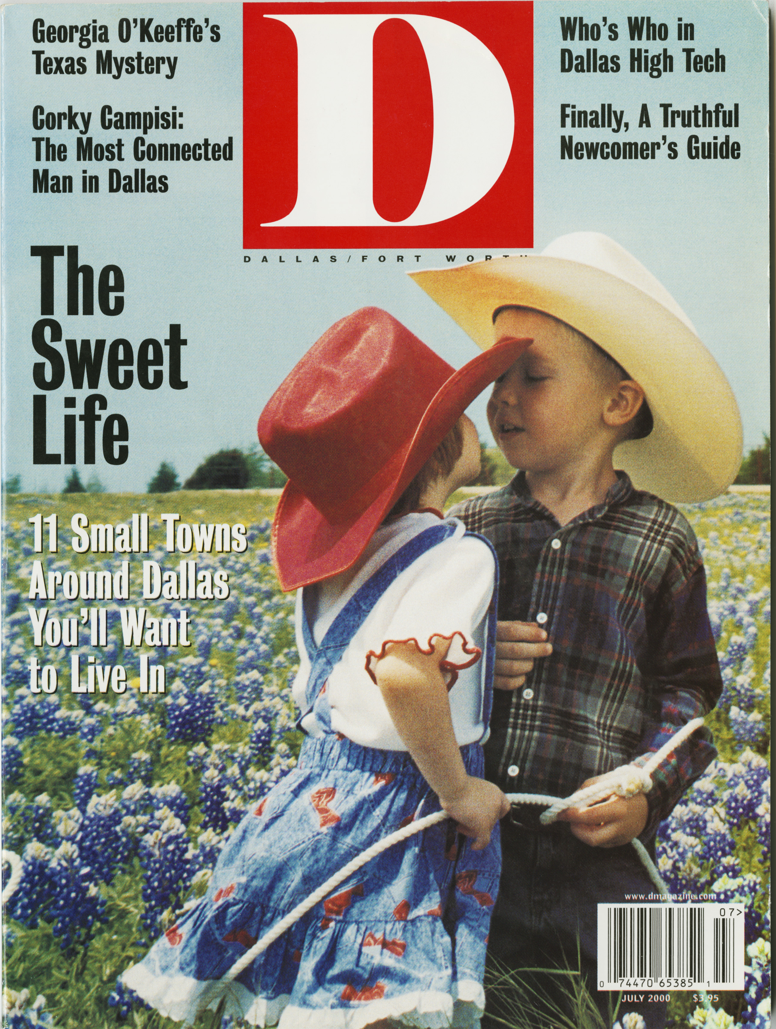 July 2000 cover