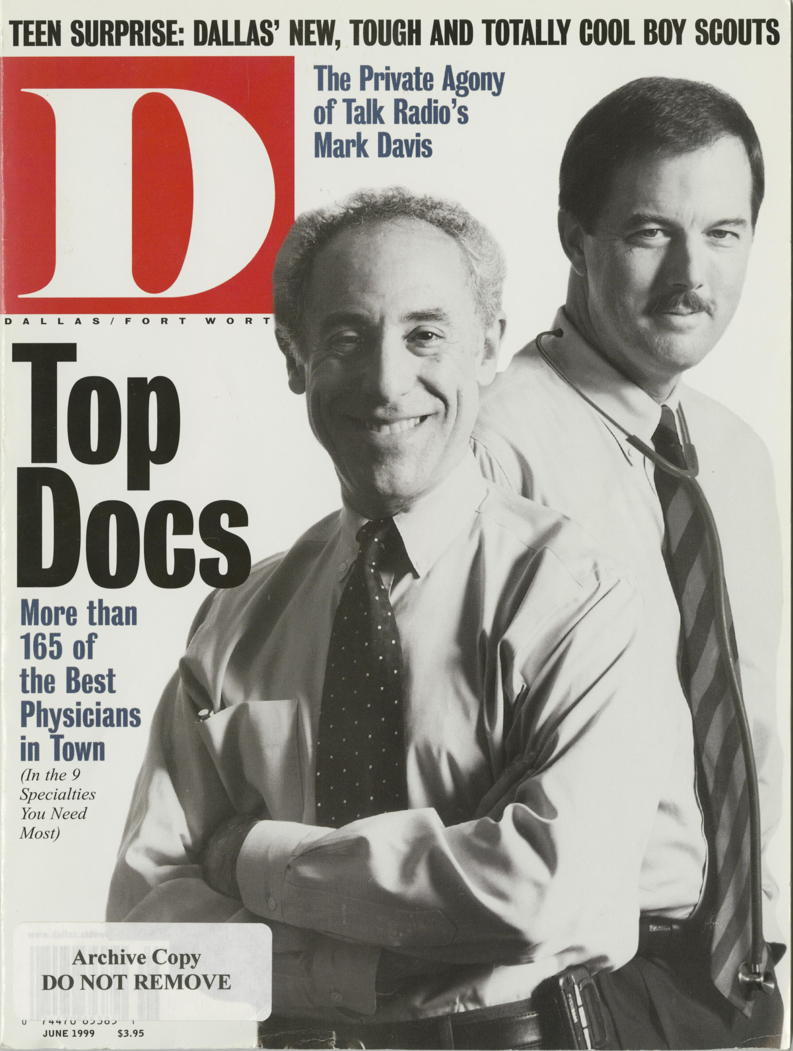 June 1999 cover