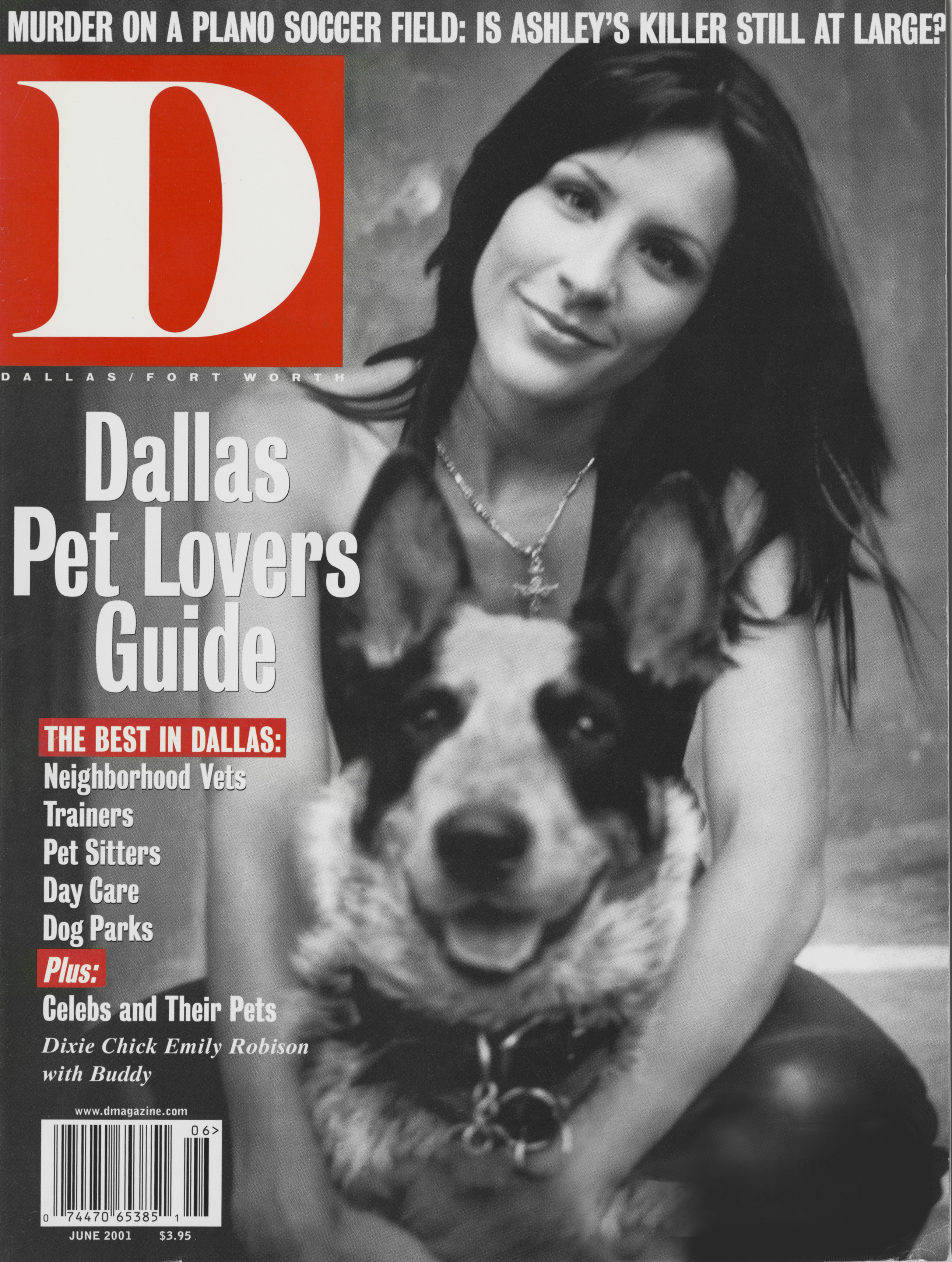 June 2001 cover