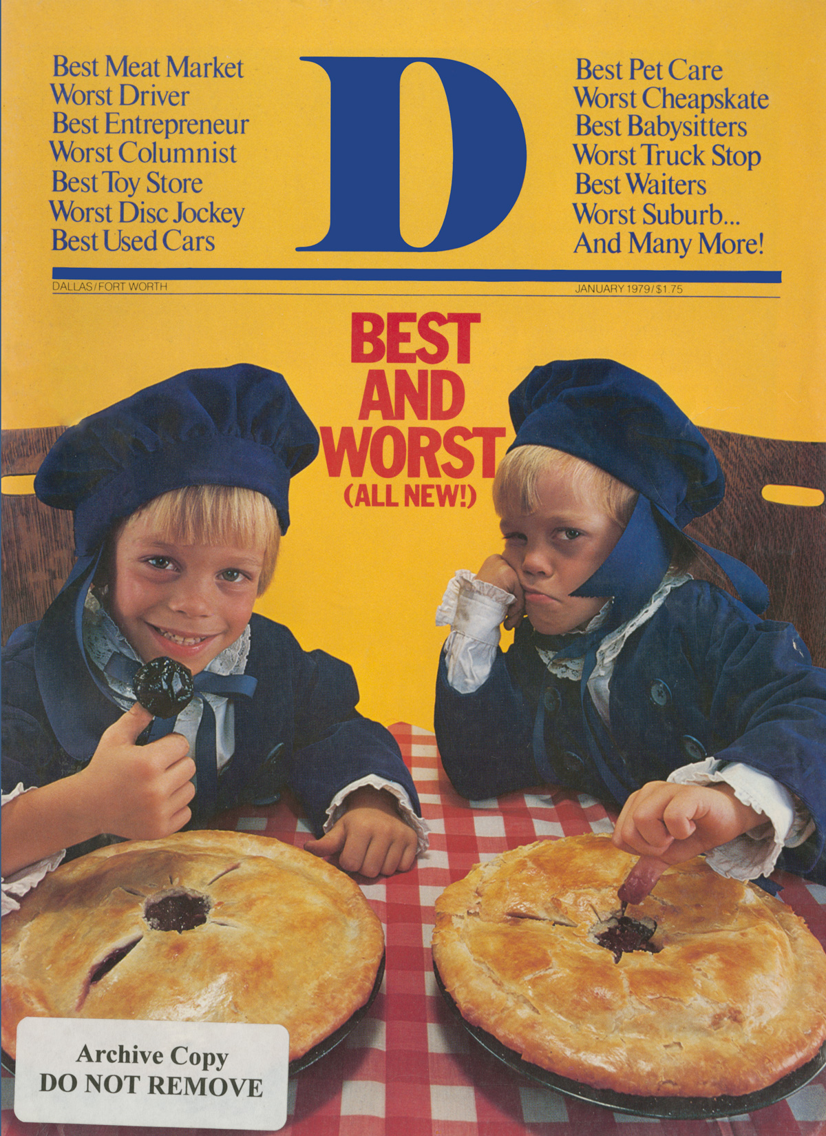 January 1979 cover