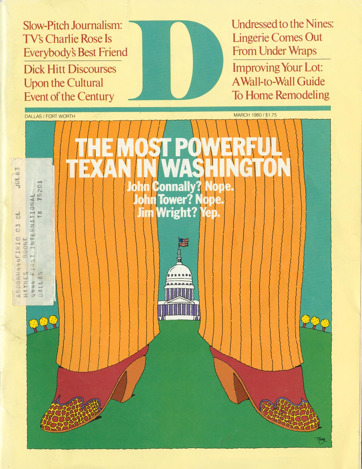 March 1980 cover