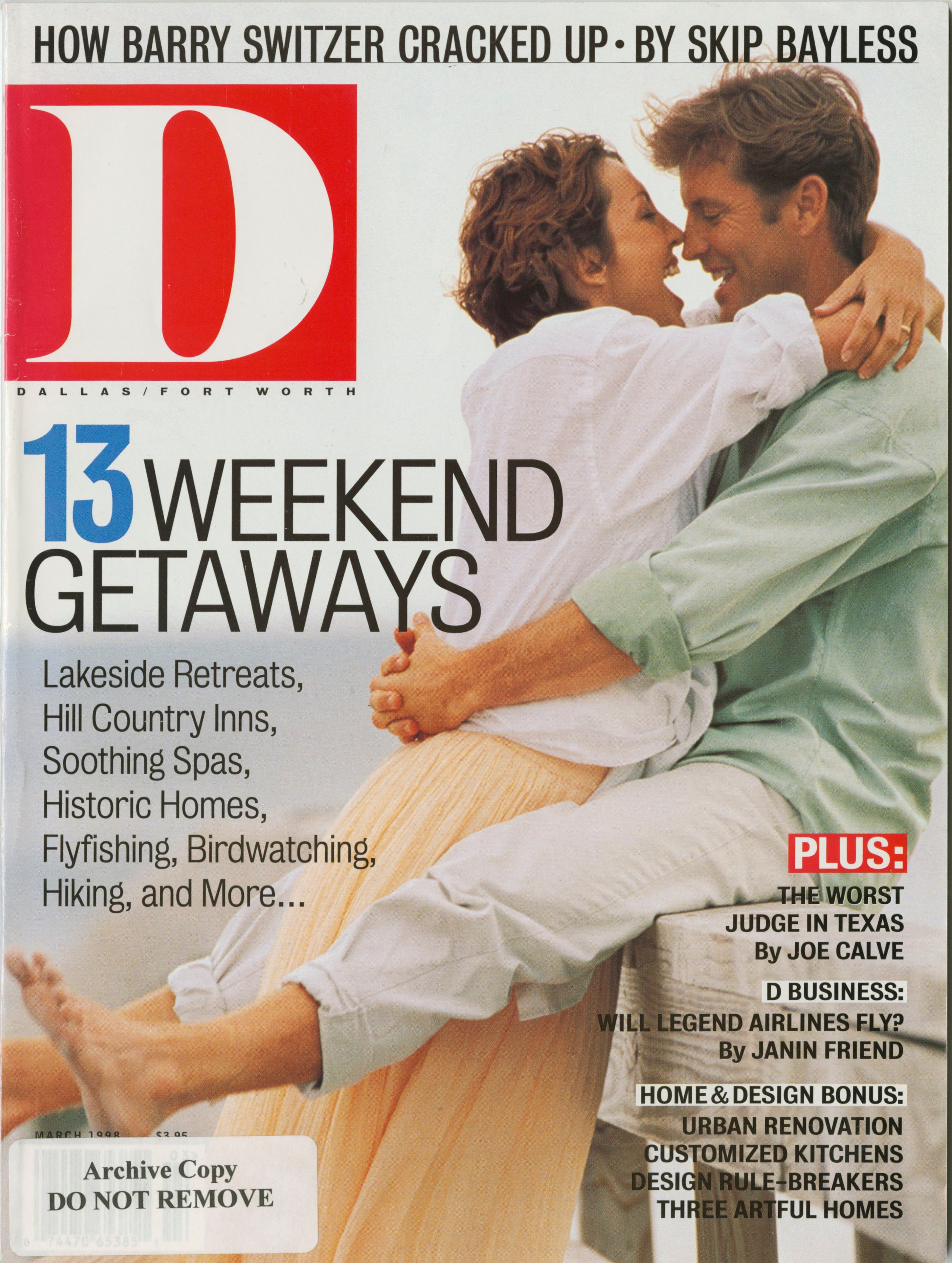 March 1998 cover