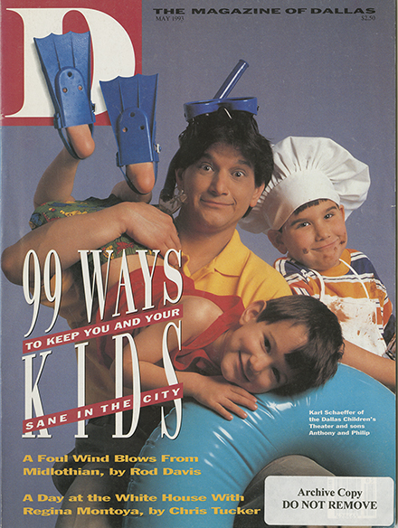 May 1993 cover