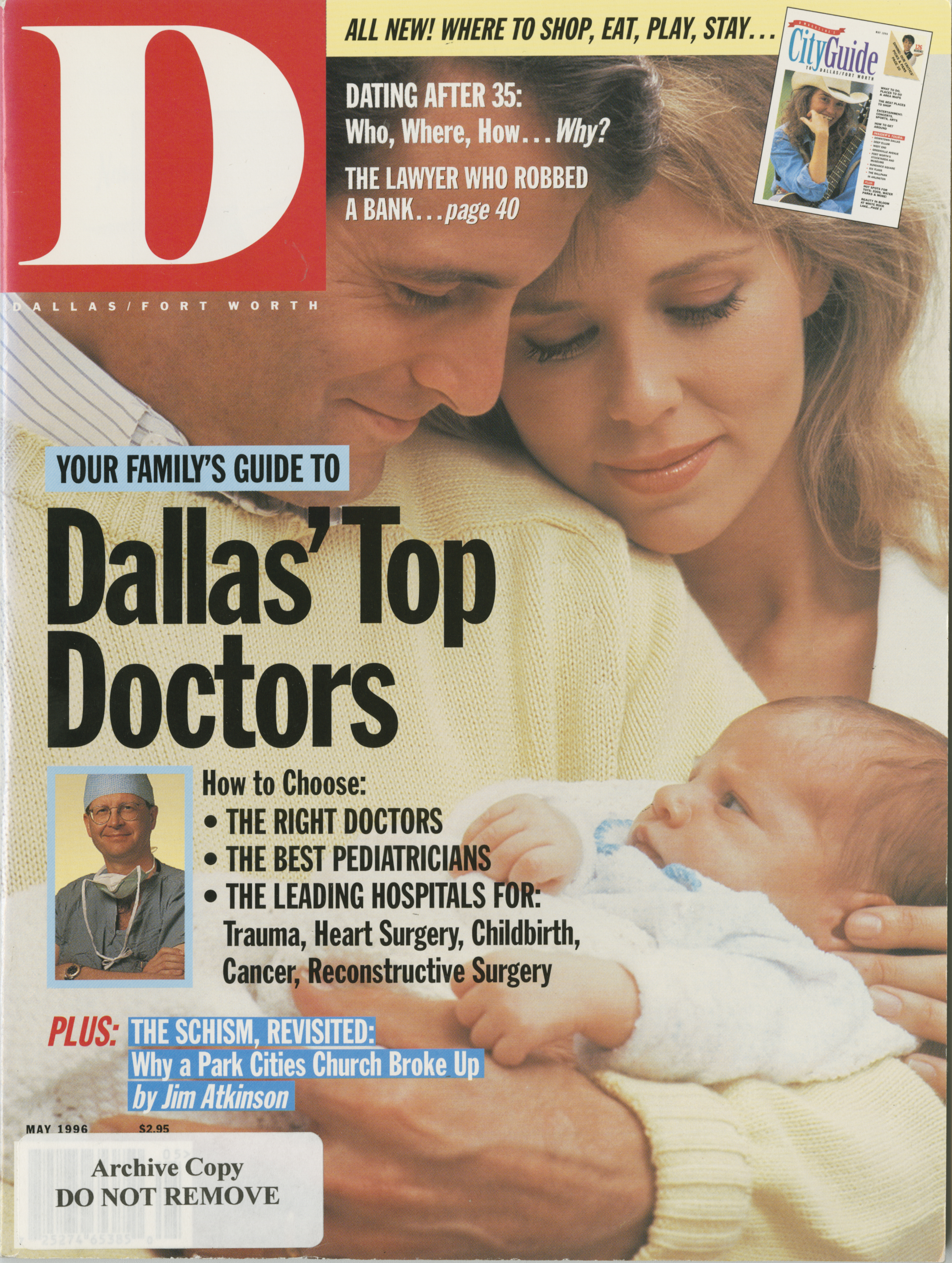 May 1996 cover