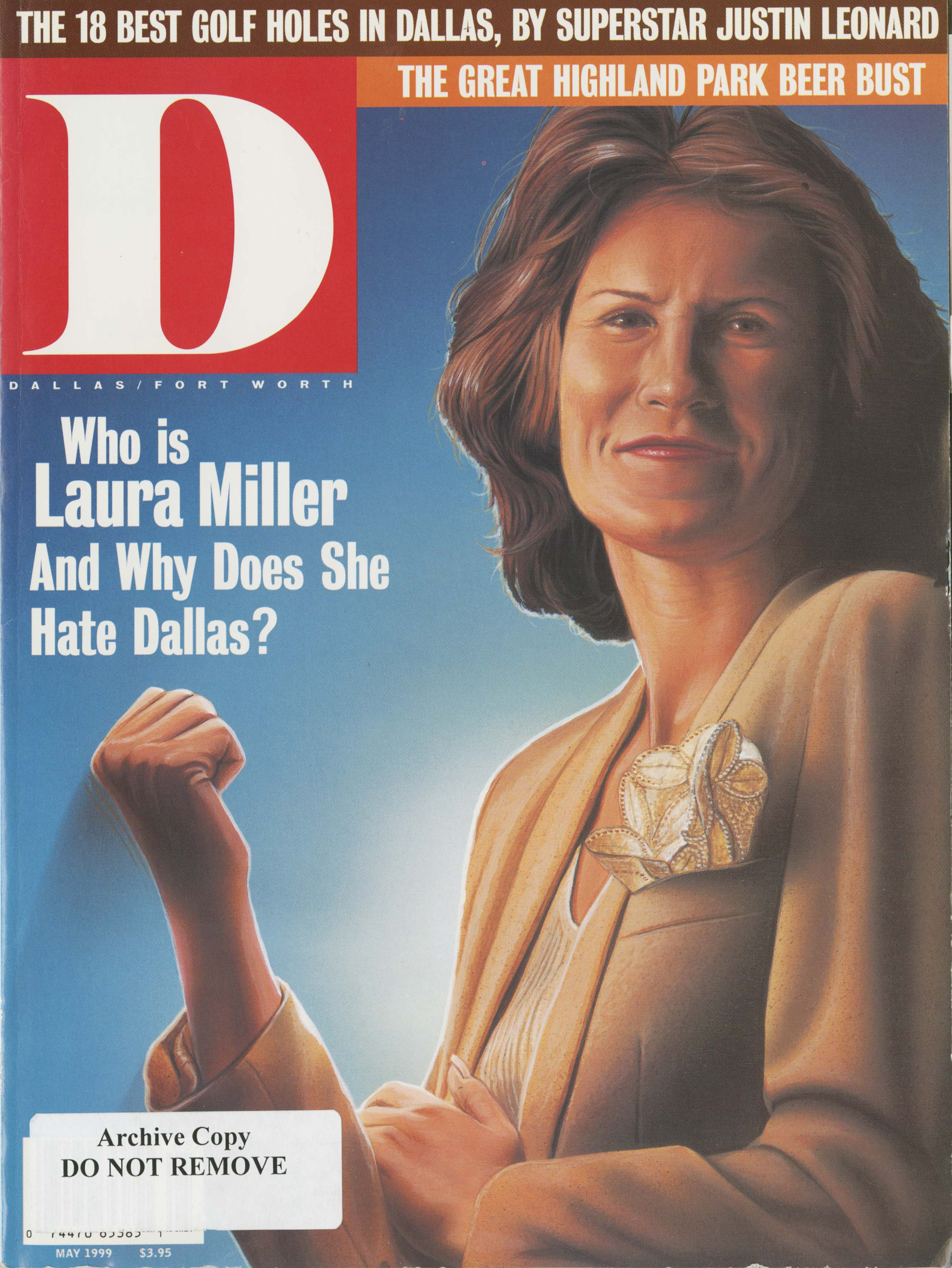 May 1999 cover