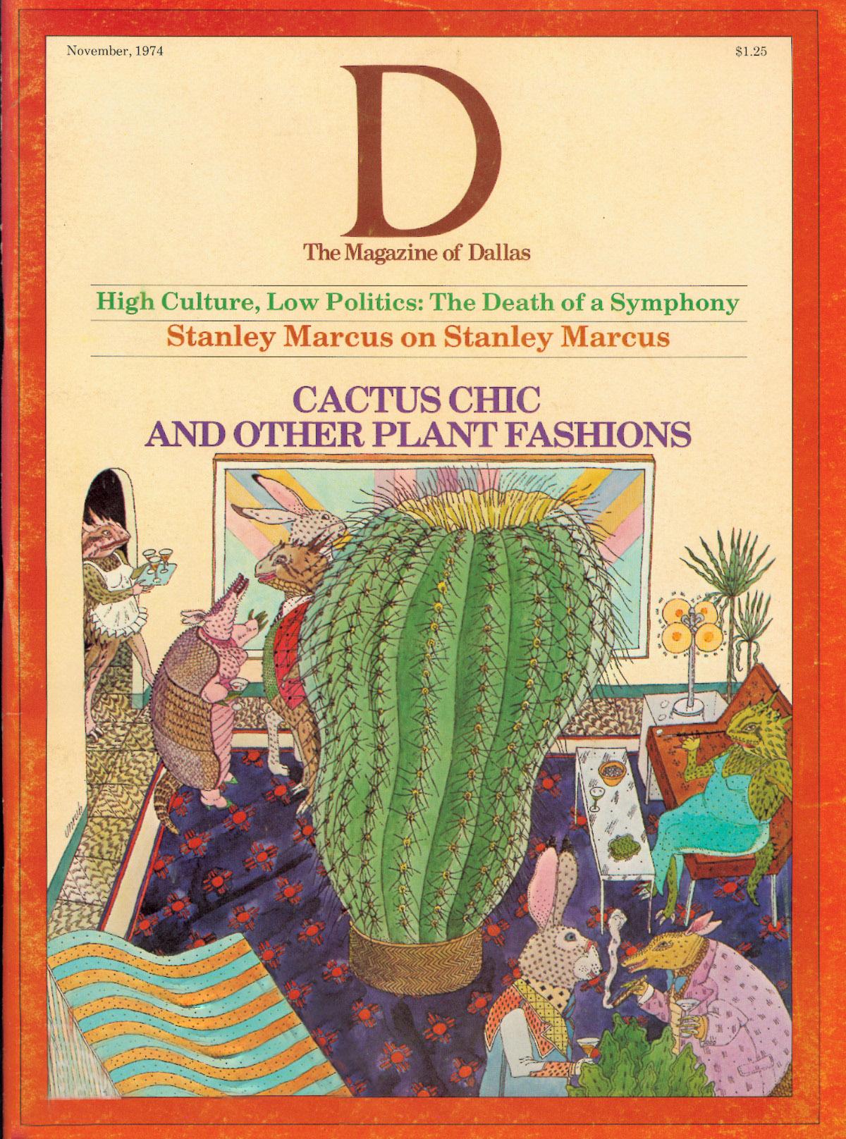 November 1974 cover