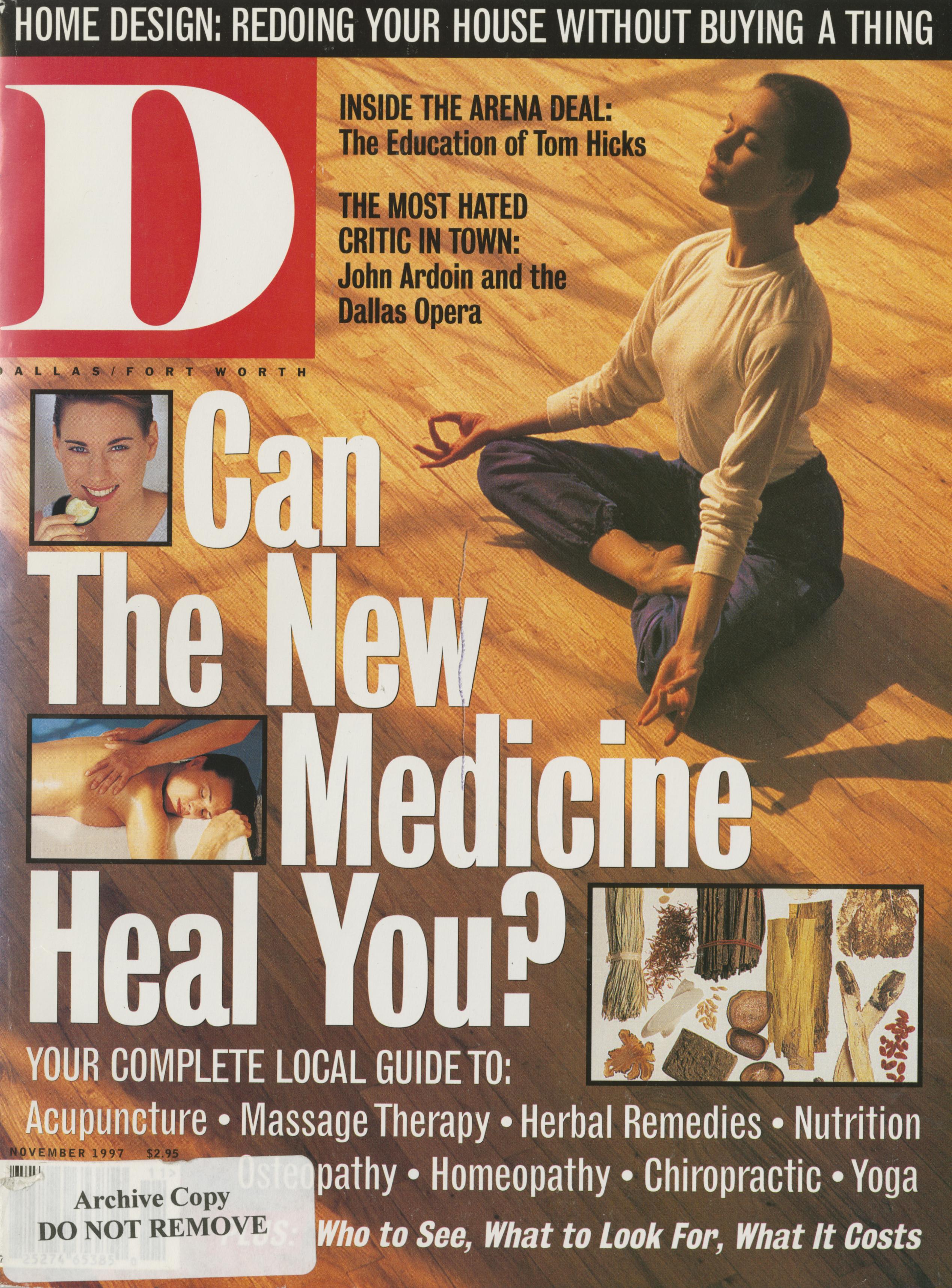 November 1997 cover