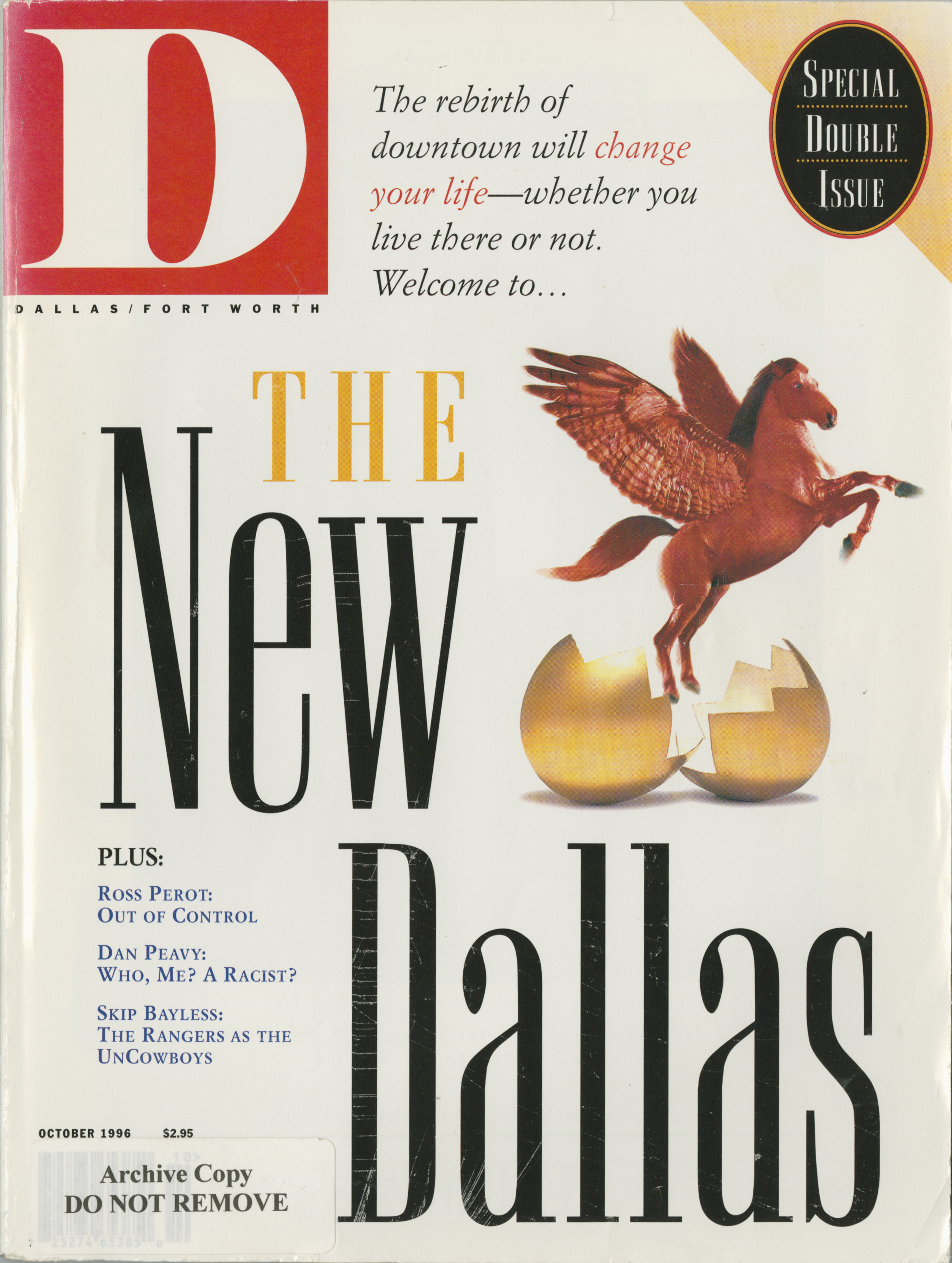 October 1996 cover