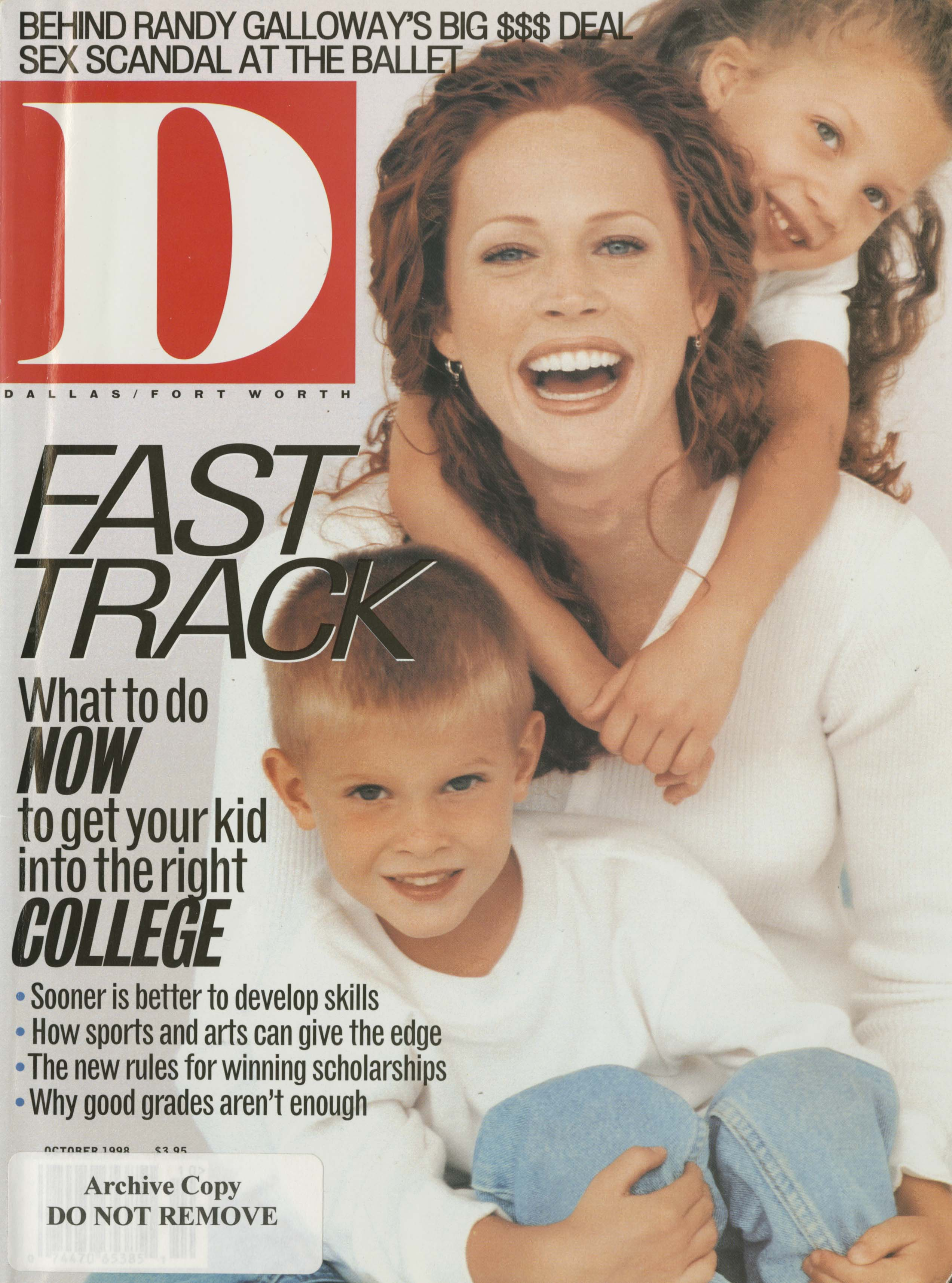 October 1998 cover